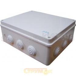 Коробка распределительная 300x250x120 Аско УкрЕм A0150170009 накладная полипропилен