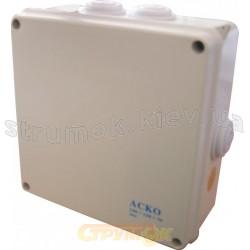 Коробка распределительная накладная 150x110x70 полипропилен Аско УкрЕм A0150170012