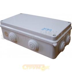 Коробка распределительная накладная 200x100x70 полипропилен Аско УкрЕм A0150170005
