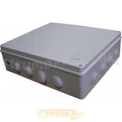 Коробка распределительная накладная 400x350x120 полипропилен Аско УкрЕм A0150170010