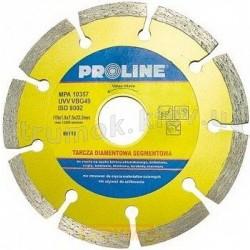 Круг отрезной алмазный 125х22мм PROLINE 86125 по камню, бетону, армобетону