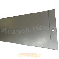 Крышка металлическая для канала 100х50, L-3000. толщина стали 0,7 мм