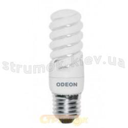 Лампа енергосберегающая КЛЛ Спираль E-27, 13W, 2700K. S27W13A Odeon