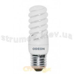 Лампа енергосберегающая КЛЛ Спираль E-27, 13W, 4100K. S27D13A Odeon