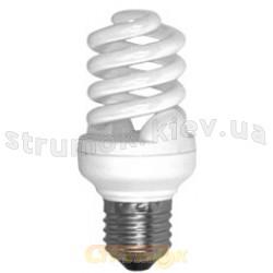Лампа енергосберегающая КЛЛ Спираль E-27, 15W, 2700K. S27W15A Odeon
