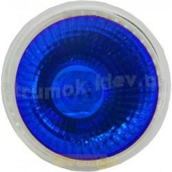 Лампа галог.DELUX JCDR 230V 50W G5.3, голубая