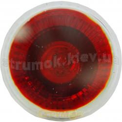Лампа галог. DELUX МR16 12V, 50W, красная