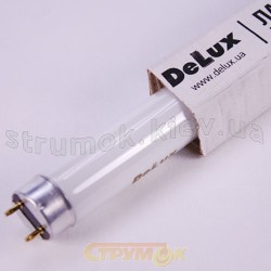 Лампа люминесцентная Delux 30W/54 Т8 G13 10007837 линейная (900 мм)