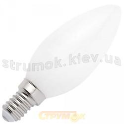 Лампа накаливания Philips В-35 E27 60W матовая свеча