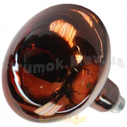 Лампа накаливания инфракрасная ИКЗК 250Вт Е27 рефлекторная