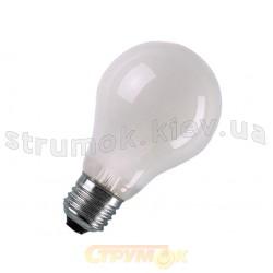 Лампа накаливания Philips A60 E27 60W матовая, стандартная