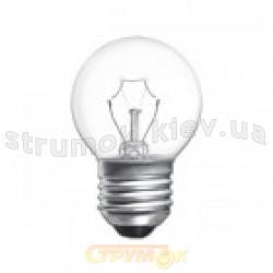 Лампа накаливания ДС230-240В 60Вт Е27 прозрачная, шар