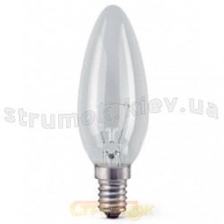 Лампа накаливания GE 40С1/СL/E14 40 Вт 230V прозрачная свеча