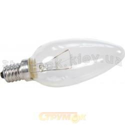 Лампа накаливания Искра ДС230-240В 40Вт Е14 прозрачная, свеча