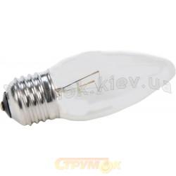 Лампа накаливания Искра ДС230-240В 60Вт Е27 прозрачная свеча