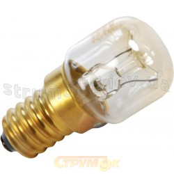 Лампа накаливания для духовки Т-25 25Вт Е14 до +300*С Philips