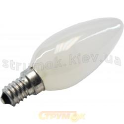 Лампа Philips В-35 E-14 25W матовая(свеча)