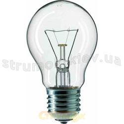 Лампа накаливания PILA А-55 75W E27 прозрачная