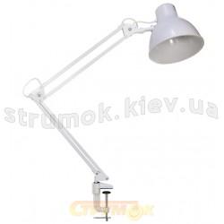 Лампа настольная Delux TF-06 E-27 белый цвет