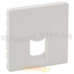 Лицевая панель для розетки RJ11/RJ45 Valena Life 755410 белая