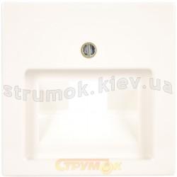 Лицевая накладка 1-одинарная RJ 11/12-RJ45 ABB Basic 55 1803-94-507 белый цвет