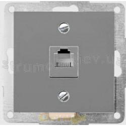 Лицевая накладка ТФкомпьютер Fiorena металлик 22007809 Hager  Polo