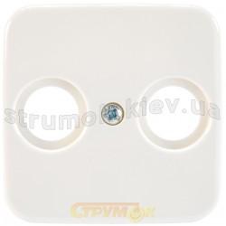Лицевая накладка TV+R телевизионная 2531-214 ABB Reflex белый цвет