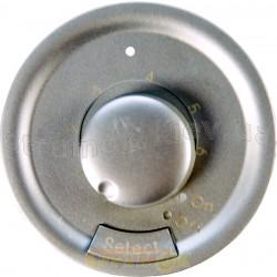 Панель управления термостата с датчиком для теплого пола Celiane Legrand 68549 титан