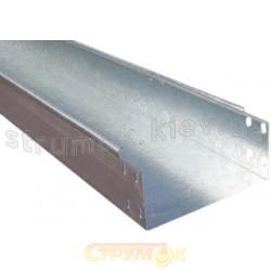 Лоток металлический 100х50 L-3000 толщина стали 0,7 мм