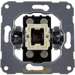 Механизм одноклавишного крестовидного выключателя 11000202 Polo / Hager