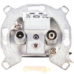 Механизм ТV+R телевизионной концевой розетки 8538909900 ABB Reflex / Bush Duro / Tango