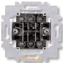 Механизм выключателя 2-клавишного проходного 3558-A52440 ABB Time Element Tango с винтовыми зажимами