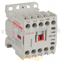 Миниконтактор магнитный Sigma Elektrik SСM-9М 9А  230V  AC  NO