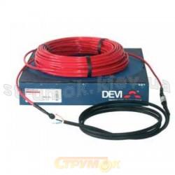Нагревательный кабель DEVI DTIP-18 (22м 360Вт 2.8м кв) 140F0123