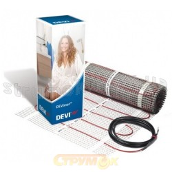 Нагревательный мат DEVI DTIR -150 274 Вт 0,5х4м (2 м кв) 83030566