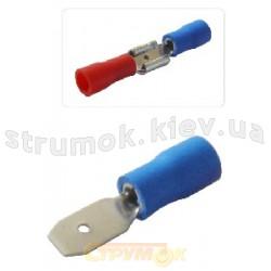 Наконечник кабельный изолированный MDD 1-187 4,75x0,5/0,8 Укрем АсКо A0060020006