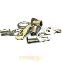 Наконечник кабельный медный анодированный (латунь) SС 25-10 Укрем АсКо A00600500032