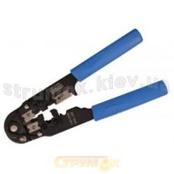 Обжимной инструмент для обжима телефонных разъемов RJ12 6Р6С Укрем Аско