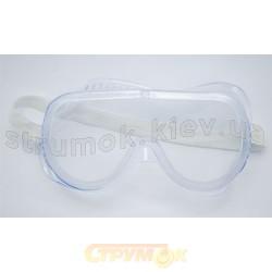 Очки защитные белые 16-525