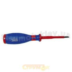 Отвертка диэлектрическая 1000В крестовая РZ 0/100GN 205мм JUCO Н1080