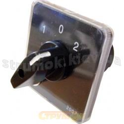 Пакетный кулачковый переключатель ПКП Е9 16А/1-831 (1-0-2) 1-полюс АСКО УкрЕм A0110010002