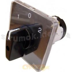 Пакетный кулачковый переключатель ПКП Е9 16А/2-832 (1-0-2) 2-полюса АСКО УкрЕм A0110010004