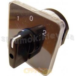 Пакетный кулачковый переключатель ПКП Е9 25А1.831 (1-0-2) (1-полюсный) Укрем АсКо