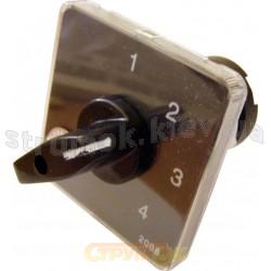 Пакетный кулачковый переключатель ПКП Е9 25А2.833 (1-2-3 выбор фаз) Укрем Аско