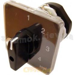 Пакетный кулачковый переключатель ПКП Е9 25А/2.843 (0-1-2-3 выбор фаз) Укрем Аско A0110010014