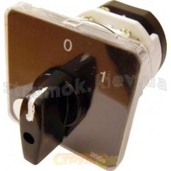 Пакетный кулачковый переключатель ПКП Е9 40А2.823 (0-1) (3полюса) Укрем Аско