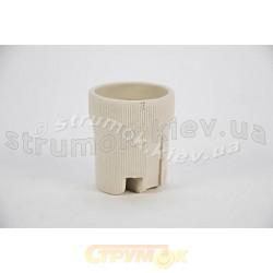 Патрон керамический F519 E27 (цоколь)