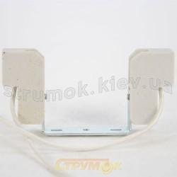 Патрон керамический для галогенной линейной лампы Delux R7S, 500W, 118мм