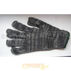 Перчатки рабочие 90-019 вязаные темносерые