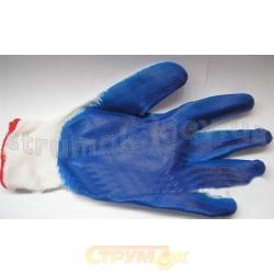 Перчатки рабочие 90-043 х/б Вампирка стрейч